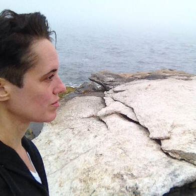 Noelle Messier in Selfie in New Harbor, Maine