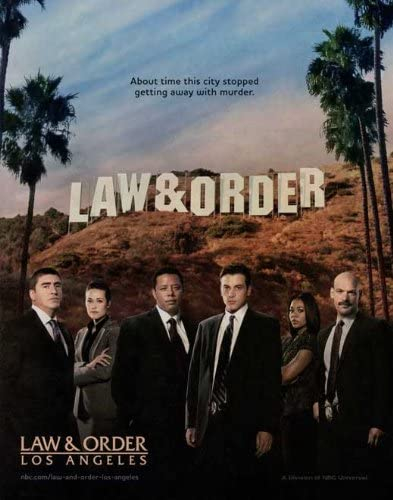 Law & Order Los Angeles Poster
