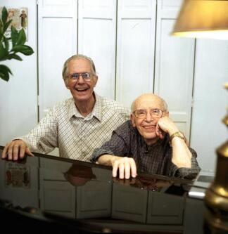 John Mace and Richard Dorr, Noelle Messier's great-uncles in NYC