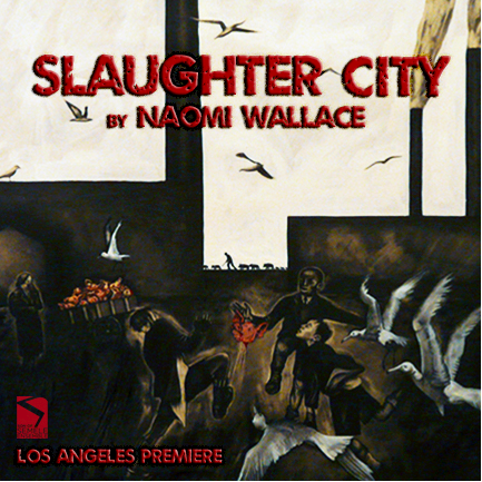 Program Cover for Slaughter City, directed by Barbara Kallir, Son of Semele Ensemble Theater
